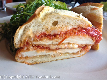 Gioia San Francisco Chicken Parmesan sandwich