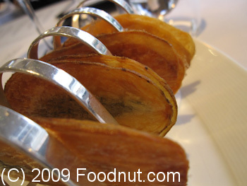 Gordon Ramsay London UK Amuse Bouche Potato Tuile