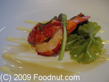 Gordon Ramsay London UK Butter Poached lobster