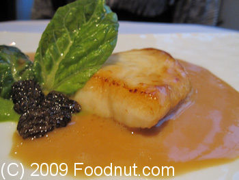Gordon Ramsay London UK Fillet of Turbot