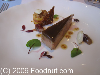 Gordon Ramsay London UK Pressed Foie Gras
