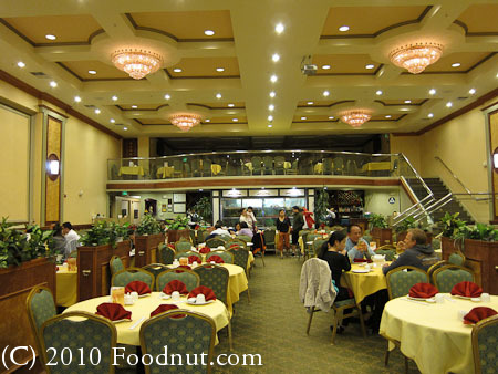 Grand Palace Seafood Restaurant South San Francisco interior decor