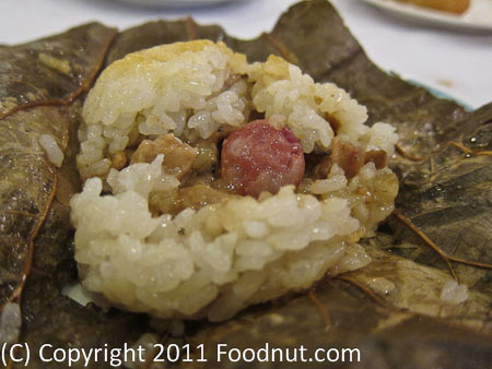 Great Eastern San Franciso_Lotus leaf sticky Rice