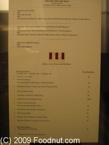 Restaurant Guy Savoy Las Vegas Menu 7