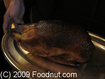 Guy Savoy Paris France Canette rotie Roast Duck