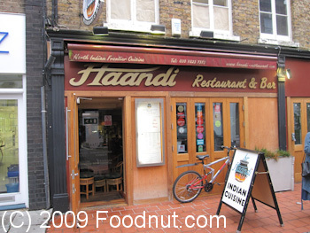 Haandi London UK exterior decor