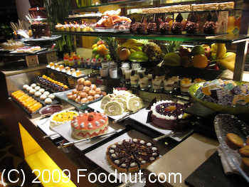 Harbourside Buffet Intercontinential Hong Kong Desserts
