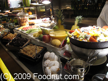 Harbourside Buffet Intercontinential Hong Kong Fruits