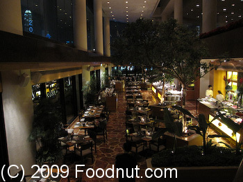 Harbourside Buffet Intercontinential Hong Kong Interior