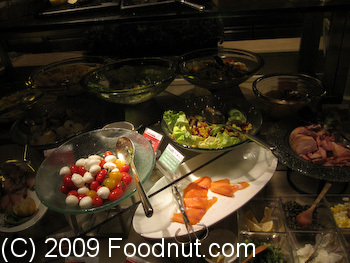 Harbourside Buffet Intercontinential Hong Kong Salads 2