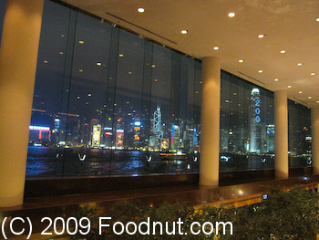 Harbourside Buffet Intercontinential Hong Kong View