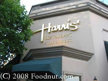Harris Steakhouse San Francisco 7