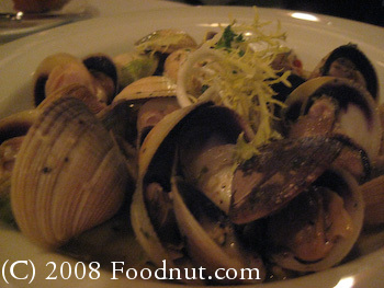 Harris Steakhouse San Francisco Clams