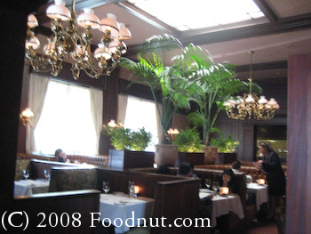 Harris Steakhouse San Francisco Interior