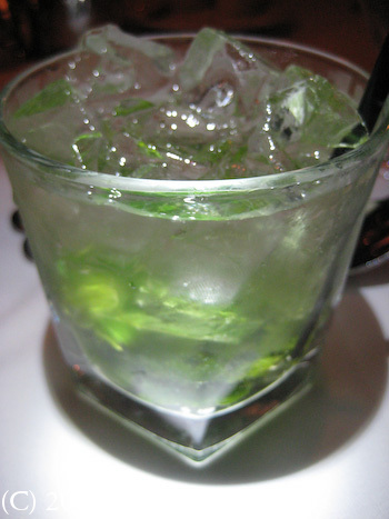Harris Steakhouse San Francisco Mojito