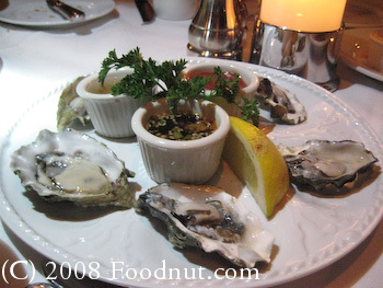 Harris Steakhouse San Francisco Oysters