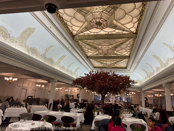 Harrods Tea Room, London