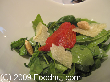 Hiely Lucullus Avignon Spinach Salad