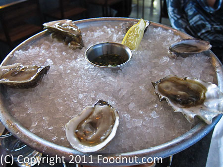 Hog Island San Francisco raw Oysters