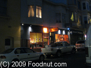 Ideale Restaurant San Francisco Exterior Decor