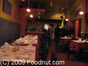 Ideale Restaurant San Francisco Interior Decor