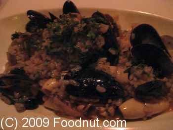 Ideale Restaurant San Francisco Seafood Risotto