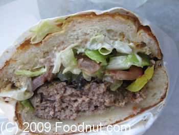 Ikes Place San Francisco Mission PZ Burger