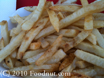 In N Out Burger French Fries