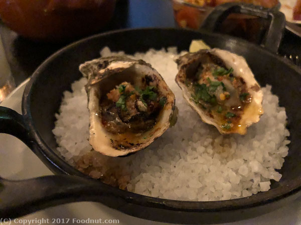 International Smoke San Francisco Grilled Oysters