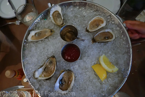 Island Creek Oyster Bar, Boston