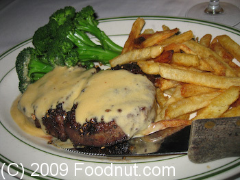Izzys Steak and chops San Francisco Filet Mignon