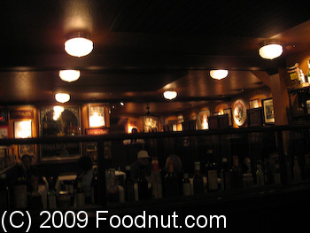 Izzys Steak and chops San Francisco Interior