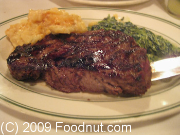 Izzys Steak and chops San Francisco New York Sirloin Steak