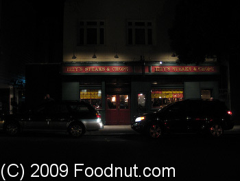 Izzys Steaks and chops San Francisco 1