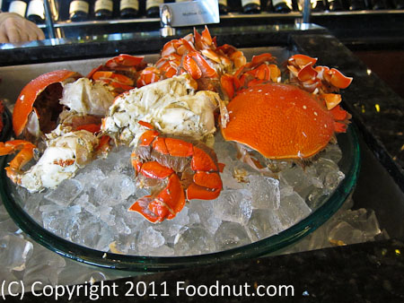 JW Marriott Hong Kong The Lounge Sunday Brunch Buffet crab shrimp shellfish 3