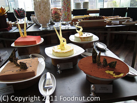 JW Marriott Hong Kong The Lounge Sunday Brunch Buffet dessert 19