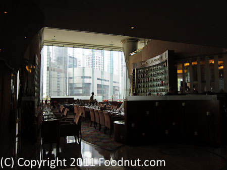 JW Marriott Hong Kong The Lounge Sunday Brunch Buffet interior decor