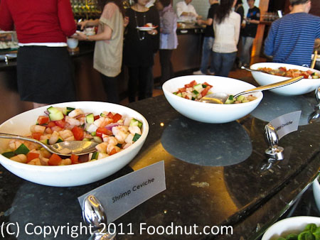 JW Marriott Hong Kong The Lounge Sunday Brunch Buffet salads 1