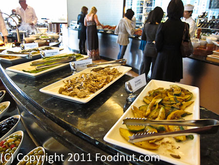 JW Marriott Hong Kong The Lounge Sunday Brunch Buffet salads 7
