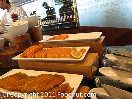 JW Marriott Hong Kong The Lounge Sunday Brunch Buffet smoked salmon
