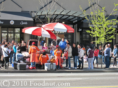 Japadog Vancouver BC Canada hot dog stand