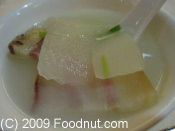 Jinjiang Palace Chinese Restaurant Taiyuan China Wintermelon Soup