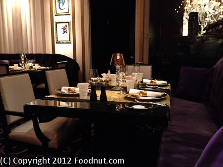 Joel Robuchon Las Vegas Interior Decor