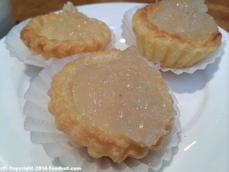 Koi Palace Daly City birds nest tarts