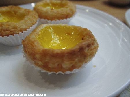 Koi Palace Daly City egg tarts