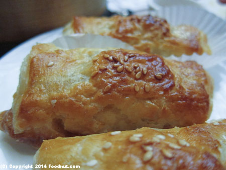 Koi Palace Daly City pork pastry