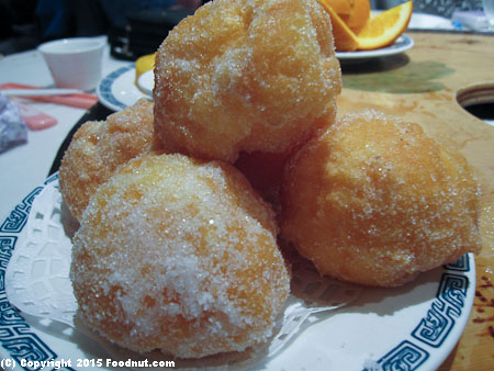 Koi Palace Daly City Dinner Fried Puffs
