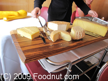 L Arpege Paris France Cheese Cart Fromage