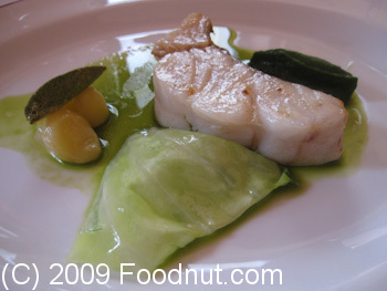 L Arpege Paris France Fish Turbot