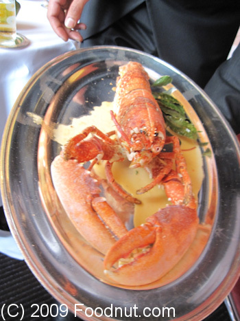 L Arpege Paris France Lobster Aiguillettes de homard